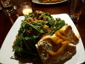 Toasted Tofu Salad at The Engine Room