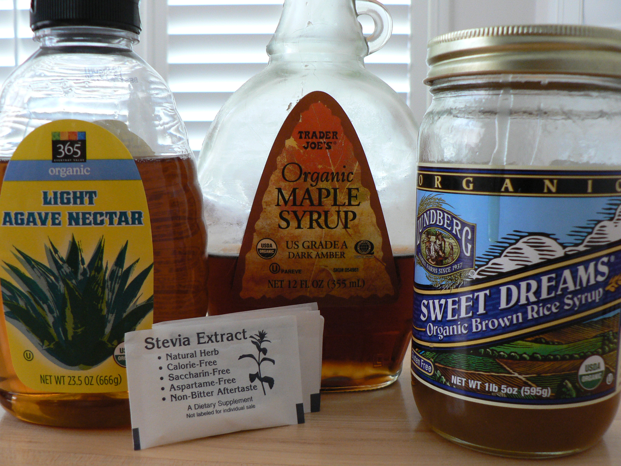 Sweeteners & Syrups