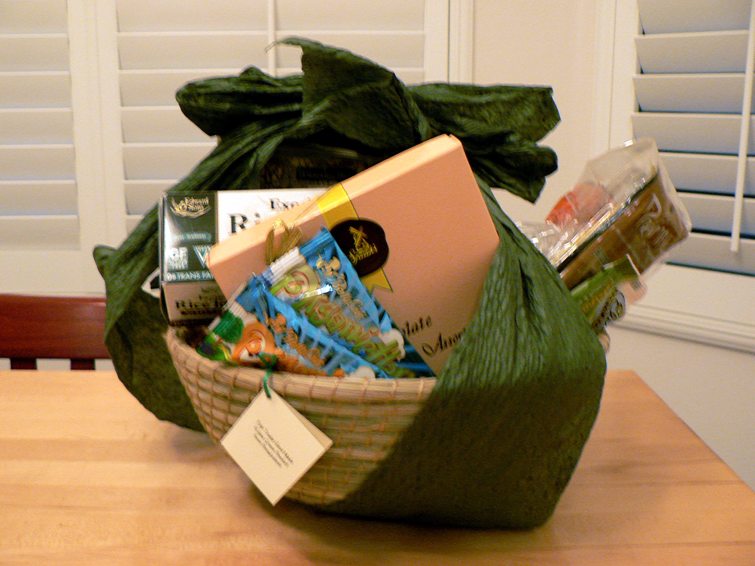 Pretty Vegan Gift Basket!