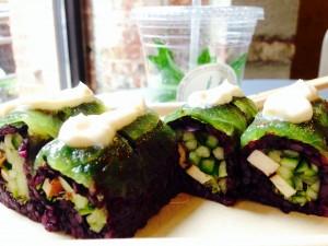 Crunch N' Munch Roll at Beyond Sushi